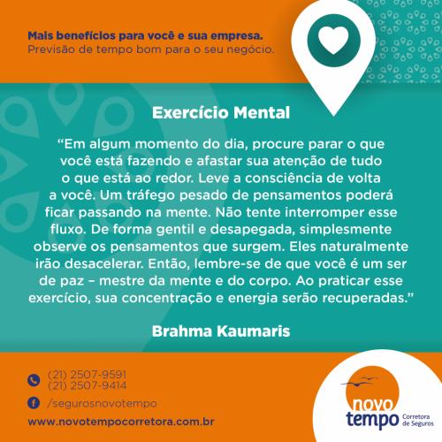 Exercício Mental